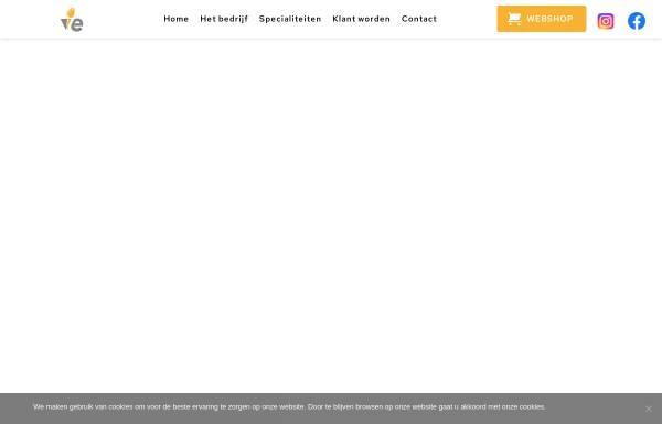 Vorschau von www.ve.nl, V&E Bumenexport GmbH