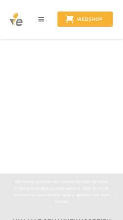 Vorschau der mobilen Webseite www.ve.nl, V&E Bumenexport GmbH