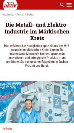 Vorschau der mobilen Webseite www.blickpunkt-wirtschaft.de, Blickpunkt Wirtschaft
