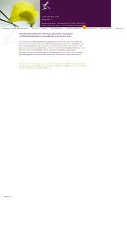 Vorschau der mobilen Webseite www.akupunktur-berlin-vos.de, Japanische und chinesische Akupunktur/Medizin in Berlin-Mitte