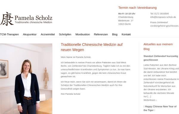 Vorschau von www.tcmpraxis-scholz.de, Pamela Scholz