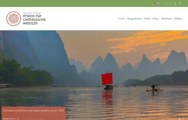 Vorschau von www.tcm-mitte.de, Praxis für Traditionelle Chinesische Medizin Zhong Yang