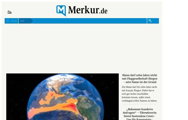 Vorschau von www.merkur.de, Spüren, was da brodelt