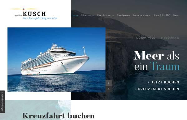 Vorschau von www.xfahrt.de, Reisebüro Kusch