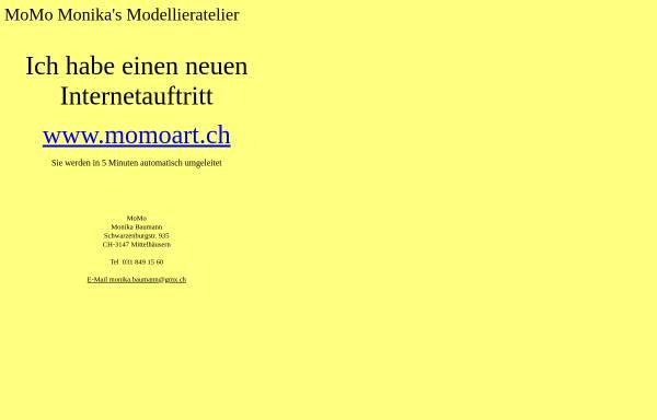 Vorschau von www.beinfo.ch, MoMo - Monikas Modellieratelier
