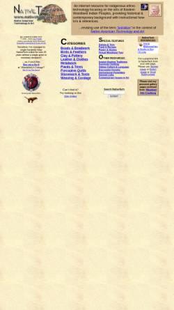 Vorschau der mobilen Webseite www.nativetech.org, Native Tech