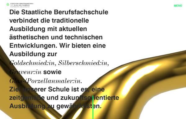 Vorschau von www.berufsfachschule-neugablonz.de, Staatliche Berufsfachschule für Glas und Schmuck Kaufbeuren-Neugablonz