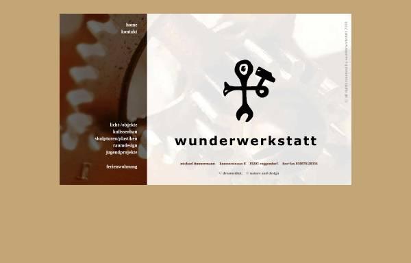 Vorschau von www.wunderwerkstatt.de, Wunderwerkstatt Schönwolde, Inh. Michael Timmermann