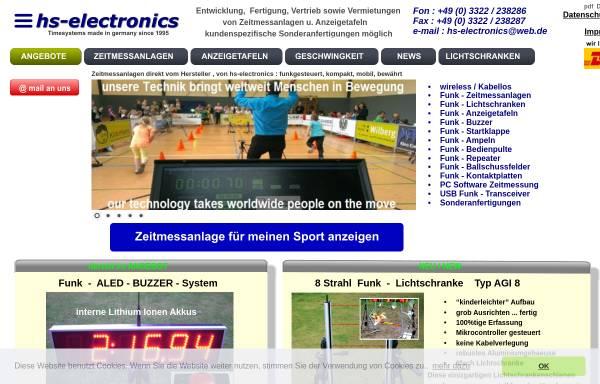 Vorschau von zeitmessanlage.de, Hs-electronics, Manuela Schulz
