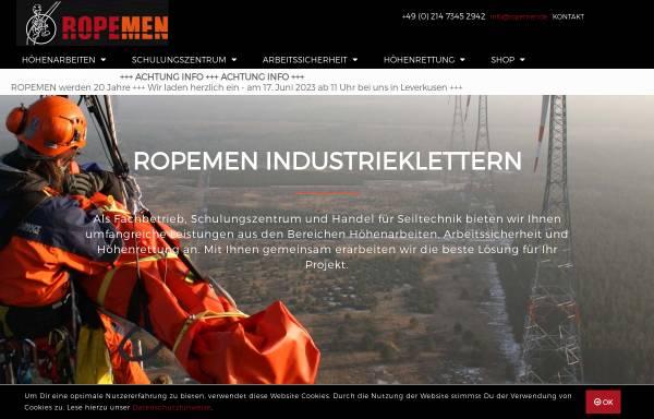 Vorschau von www.ropemen.de, Ropemen GmbH & Co. KG