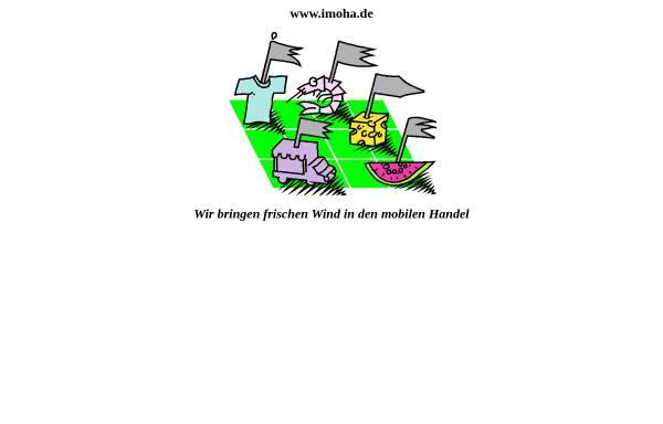 Vorschau von www.imoha.de, Imoha - Institut zur Erforschung und Förderung des mobilen Handels GmbH