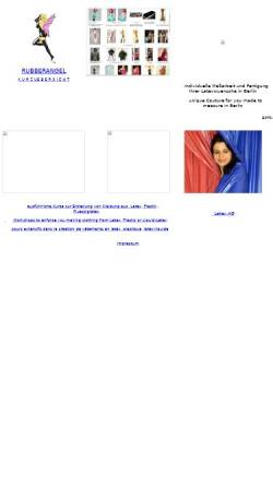 Vorschau der mobilen Webseite www.rubberangel.com, Rubberangel