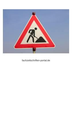Vorschau der mobilen Webseite www.fachzeitschriften-portal.de, Fachzeitschriften-portal.de