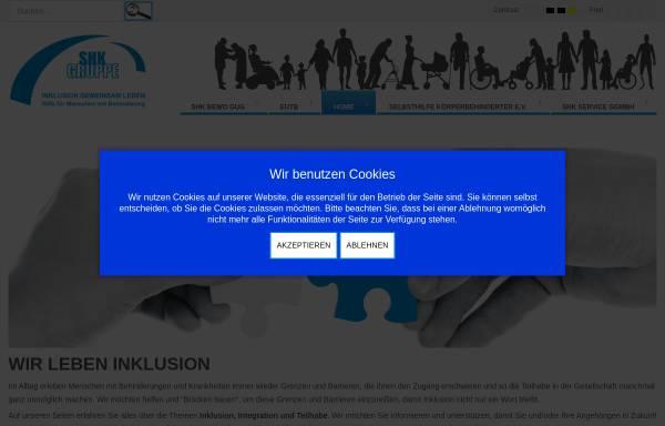 Vorschau von www.selbsthilfe-erlensee.de, Selbsthilfe Körperbehinderter Hanau - Gelnhausen e.V.