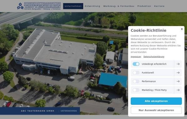 Vorschau von www.abc-tautenhahn.de, ABC Tautenhahn GmbH