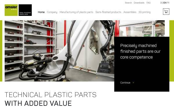 Vorschau von www.amsler-frey.ch, Amsler & Frey AG
