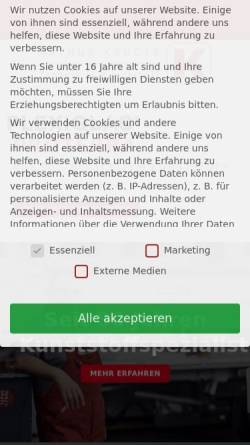 Vorschau der mobilen Webseite www.arthur-krueger.de, Arthur Krüger KG