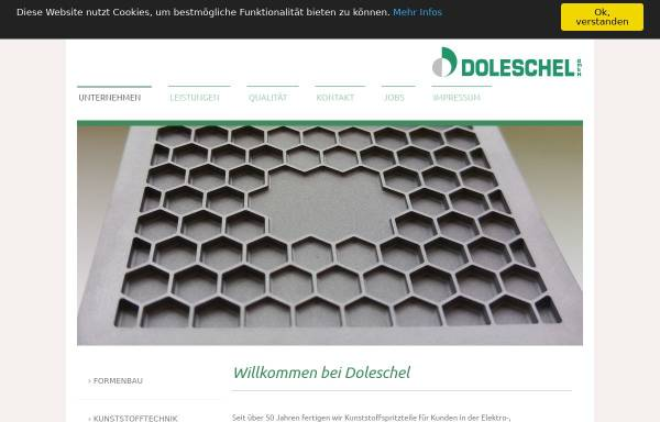 Vorschau von www.doleschel-gmbh.com, Doleschel GmbH