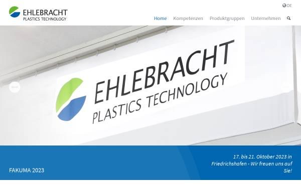 Vorschau von www.ehlebracht-plastics-technology.com, Ehlebracht Berlin GmbH+Co