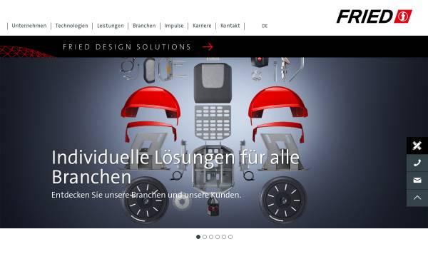 Vorschau von www.fried.de, Fried Kunststofftechnik GmbH