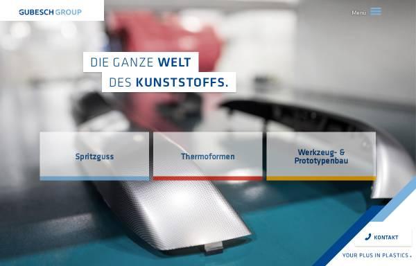 Vorschau von www.hbw-gubesch.de, HBW-Gubesch Kunststoff-Engineering GmbH