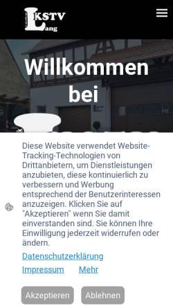 Vorschau der mobilen Webseite langkstv.de, Lang Kunststoffverarbeitung