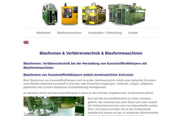 Vorschau von blasformen.com, Xeel GmbH