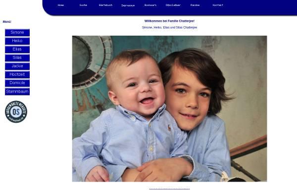 Vorschau von www.chatterjee.eu, Chatterjee, Familie
