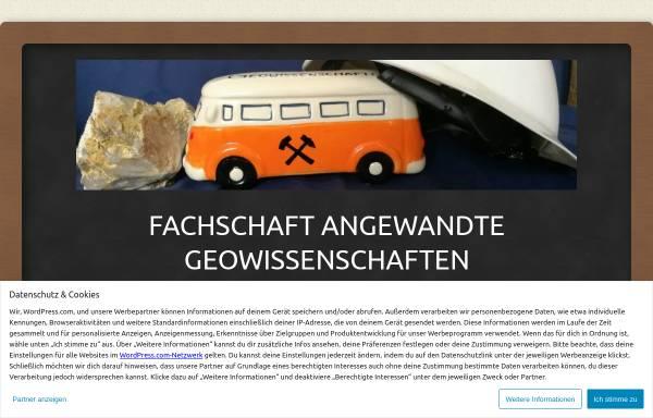 Vorschau von dubistgeologie.de, Fachschaft Angewandte Geowissenschaften TU Darmstadt