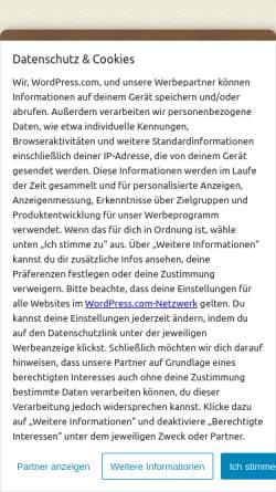 Vorschau der mobilen Webseite dubistgeologie.de, Fachschaft Angewandte Geowissenschaften TU Darmstadt
