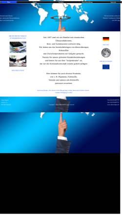 Vorschau der mobilen Webseite www.chem-impex.de, Chem-Impex-Dudek
