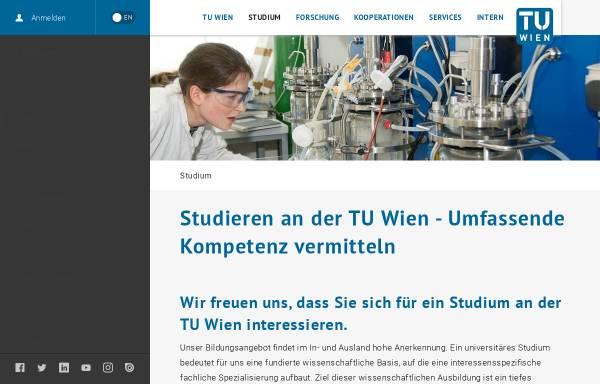 Vorschau von studium.tuwien.ac.at, Gedoäsie und Geoinformation an der TU Wien