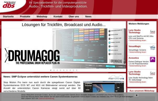 Vorschau von www.dbsys.de, DBS GmbH