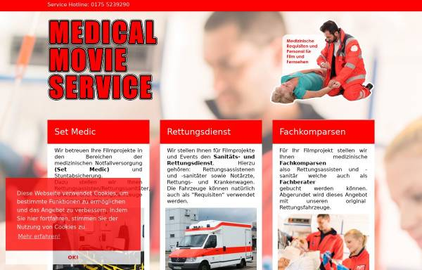 Vorschau von www.medical-movie-service.de, Medical Movie Service - Inh. Frank Guhn