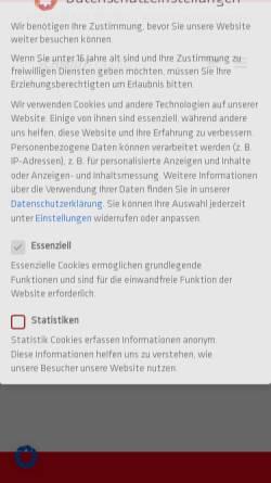 Vorschau der mobilen Webseite www.schmidtcolleg.de, SchmidtColleg GmbH & Co. KG