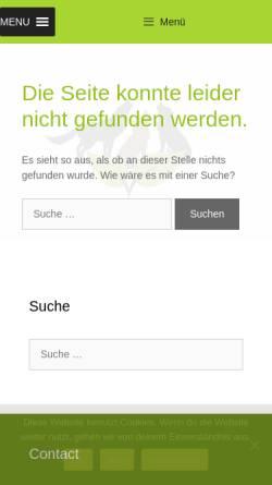 Vorschau der mobilen Webseite www.drei-hunde-nacht.eu, Homöopathie für Hunde