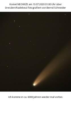 Vorschau der mobilen Webseite www.astro-bilder.de, Astro-Bilder der Verein Sternwarte Trier e.V.