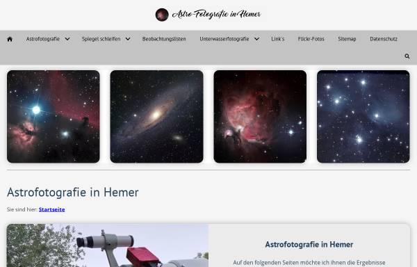 Vorschau von www.astro-fotografie.de, Astrofotografie [Fülling, Helwig]