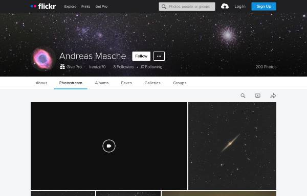 Vorschau von www.ccd-astronomie.de, Astrofotografie [Masche, Andreas]