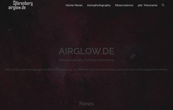 Vorschau von www.airglow.de, Astrofotografie [Sparenberg, Rainer]