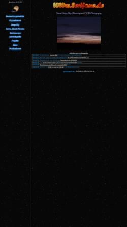 Vorschau der mobilen Webseite www.serifone.de, Visual Deep Sky Observing und CCD-Imaging [Juchert, Matthias]