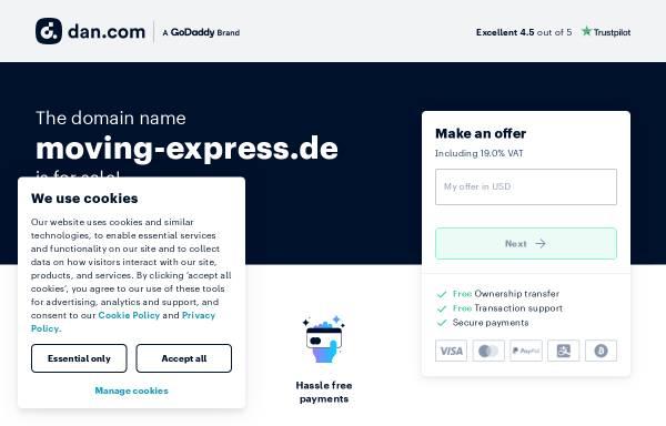 Vorschau von www.moving-express.de, Moving Express