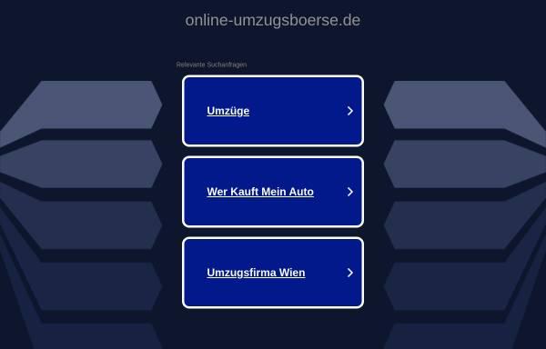 Vorschau von www.online-umzugsboerse.de, online-umzugsboerse.de