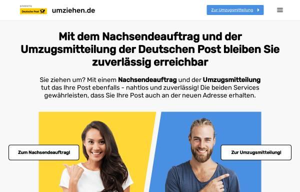 Vorschau von www.umziehen.de, Umziehen.de