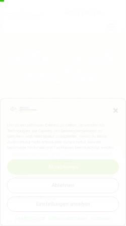 Vorschau der mobilen Webseite www.umzug.info, Umzug Tipps für Deutschland
