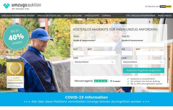 Vorschau von www.umzugsauktion.de, Umzugsauktion.de