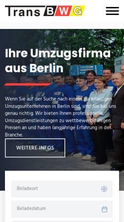 Vorschau der mobilen Webseite www.zollbestimmungen.de, Zollbestimmungen für Umzugsgüter