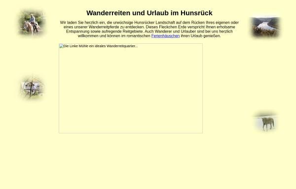 Vorschau von www.wanderreiten.de, Martin Josupeit