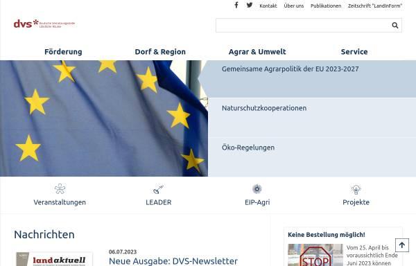 Vorschau von www.netzwerk-laendlicher-raum.de, Deutsche Vernetzungsstelle Ländliche Räume