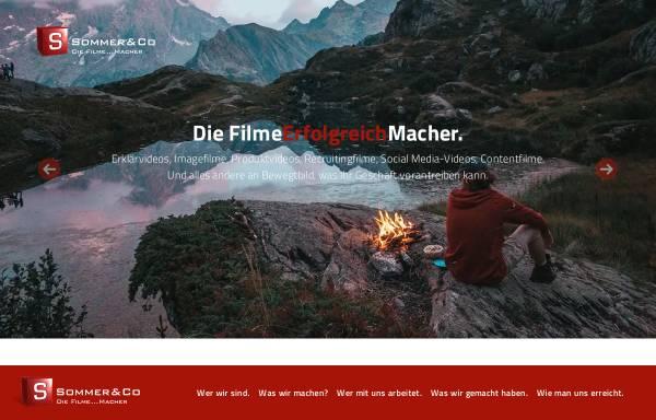 Vorschau von www.sommer-co.com, Sommer & Co. GmbH